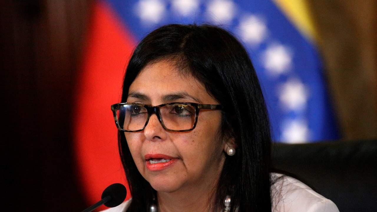 Foto: La vicepresidenta de Venezuela, Delcy Rodríguez, 9 febrero 2019