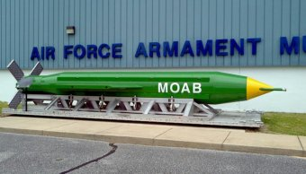 La Madre de todas las Bombas, 'Mother Of All Bombs', MOAB, (Archivo)