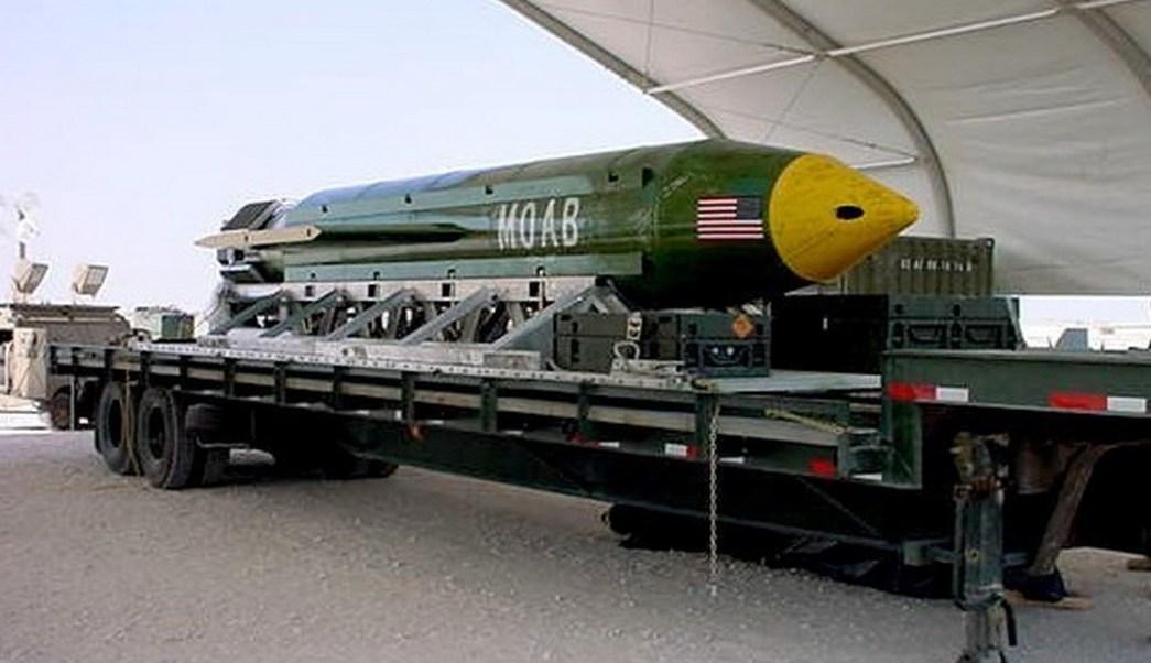 La MOAB, la madre de todas las bombas (AP)
