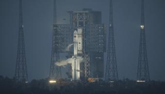Lanzamiento de la nave espacial china Tianzhou 1. (EFE)