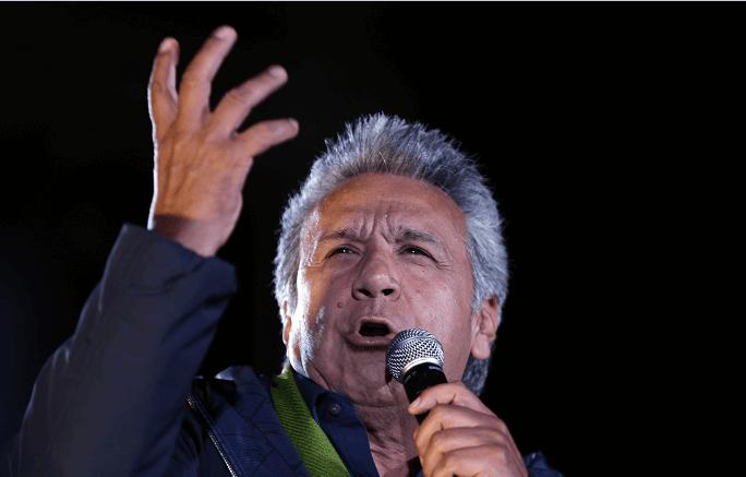 Lenín Moreno, ganador de las elecciones presidenciales en Ecuador. (AP, archivo)