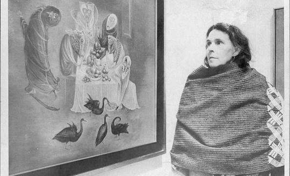 Leonora Carrington (Getty Images, 1975)