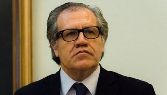 Luis Almagro, secretaría General de la OEA.