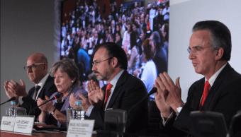 Luis videgaray, Canciller, Relaciones exteriores, Sre, Canciller, Mexico