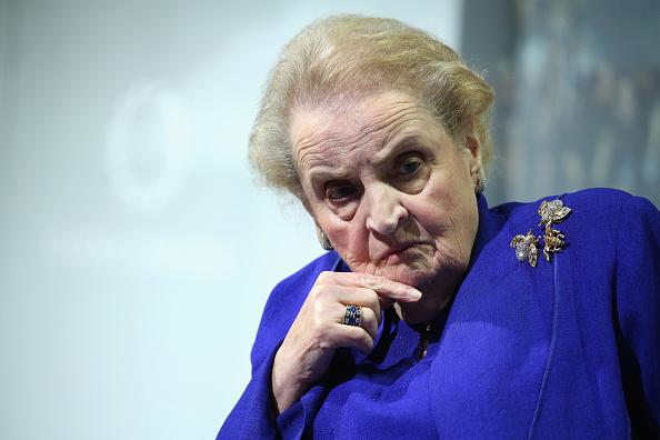 Madeleine Albright, ex secretaria de Estado de Estados Unidos. (Getty Images)