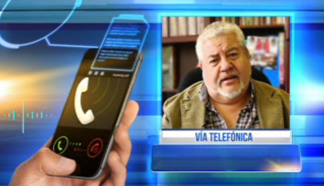 Manuel Huerta, líder de Morena en Veracruz (Noticieros Televisa)