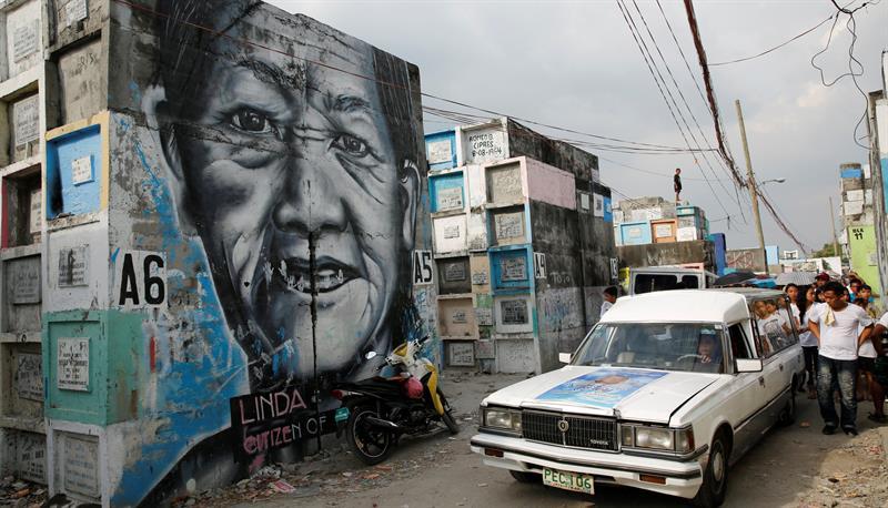 Mas de cien muertos en Filipinas por la nueva fase de la guerra antidroga. (EFE)
