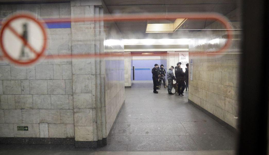 La estación Sennaya Ploschad es una de las más concurridas en San Petersburgo. (AP)
