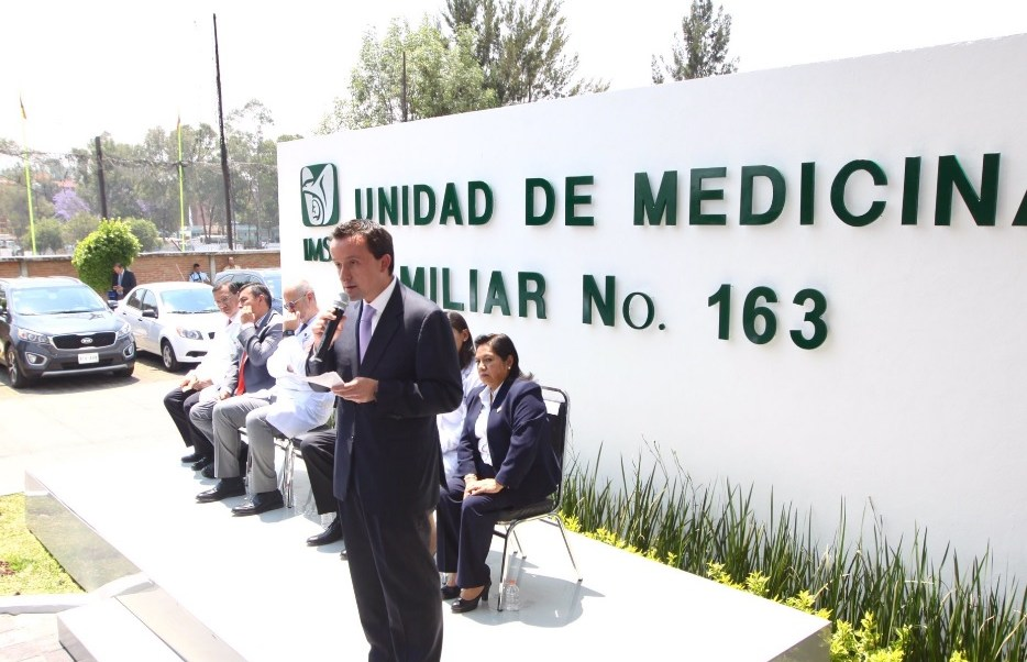Mikel Arriola, titular del IMSS. (Twitter: @arriolamikel)