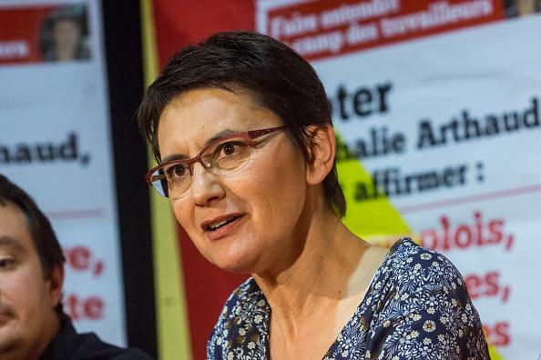 Nathalie Arthaud. (Getty Images)