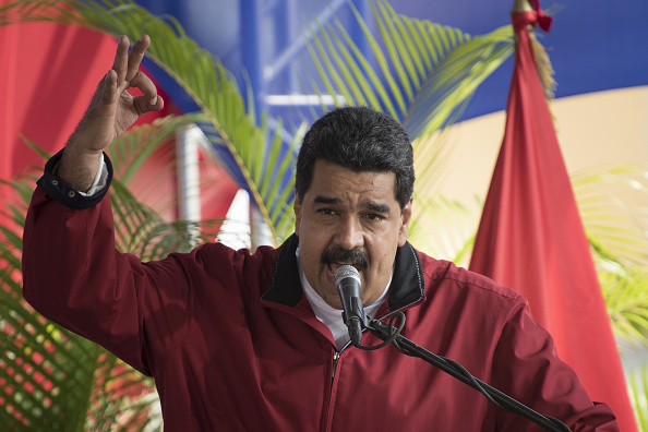"Maduro acusa a opositores de intentar ""incendiar el país"" (Getty Images)"