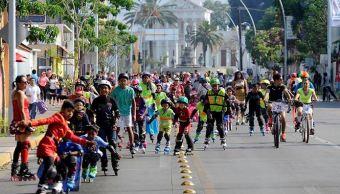 Oaxaca, Niños, Bicicleta, Festejo