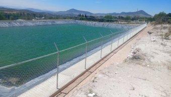 Olla de agua en Teposcolula, municipio de La Trinidad Vista Hermosa, Oaxaca. (Twitter @conaza_gob)