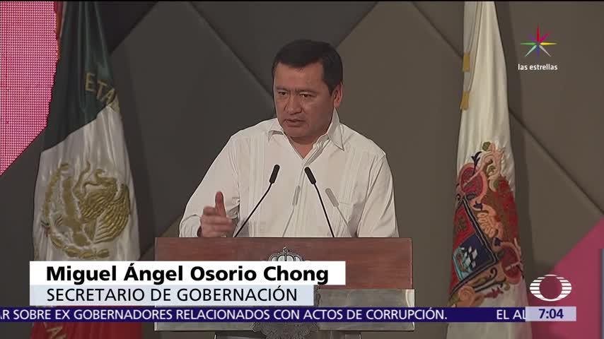 Osorio Chong pide sumar esfuerzos de diputados para renegociar el TLC