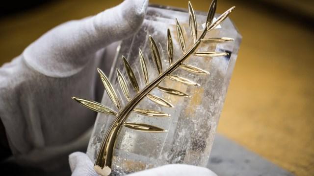 Palma de oro que elabora una firma joyera suiza; la joya será adornada con diamantes (chopard.es)