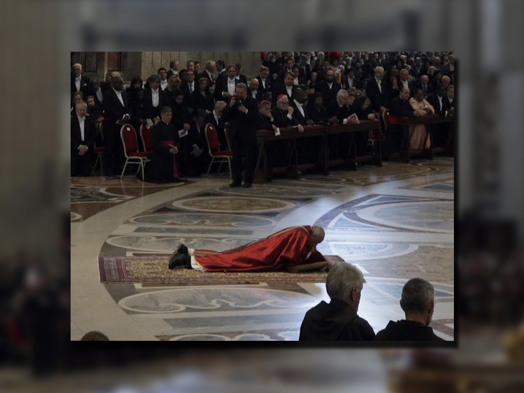 El papa Francisco tildó de