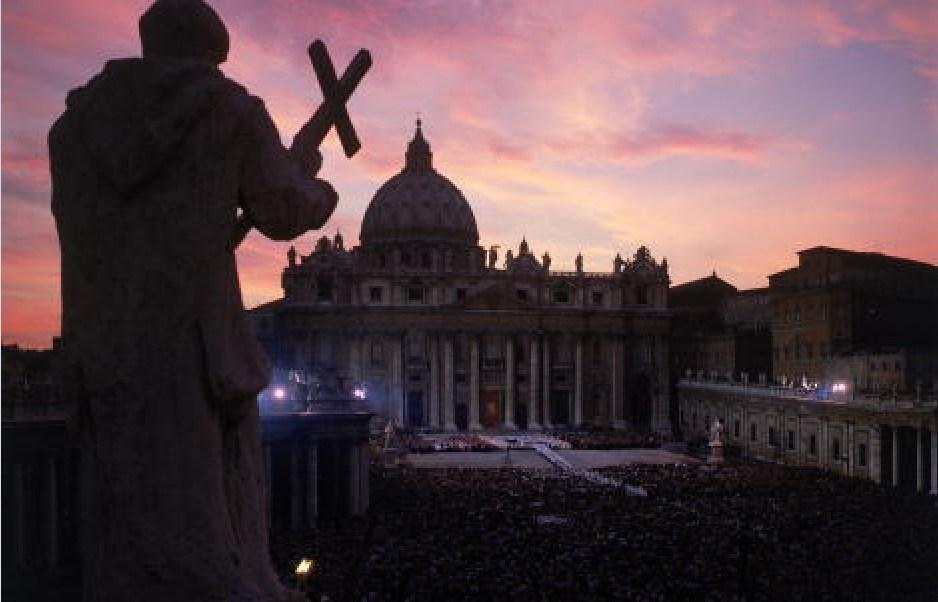 Plaza de San Pedro en el Vaticano; el gobierno de la Santa Sede atenderá la petición de audiencia de Donald Trump en el momento que sea enviada (Getty Images, archivo)