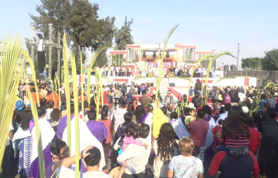 Pasión del Cristo de Iztapalapa. (Twitter @Del_Iztapalapa)