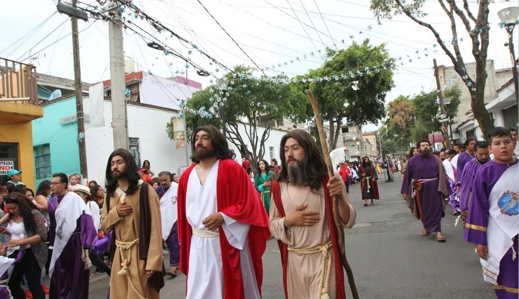 174 representación de la Pasión de Cristo en Iztapalapa; el Jueves Santo concluye sin incidentes (NTX)