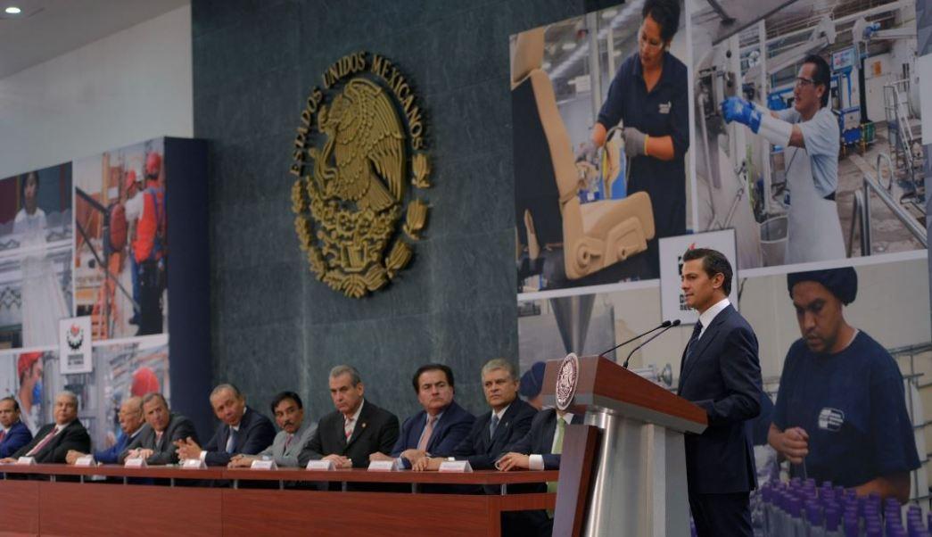 Peña recordó que el 30 de noviembre de 2012, al finalizar el sexenio anterior, había en México 16.2 millones de empleos registrados en el Seguro Social (Twitter/@PresidenciaMX)