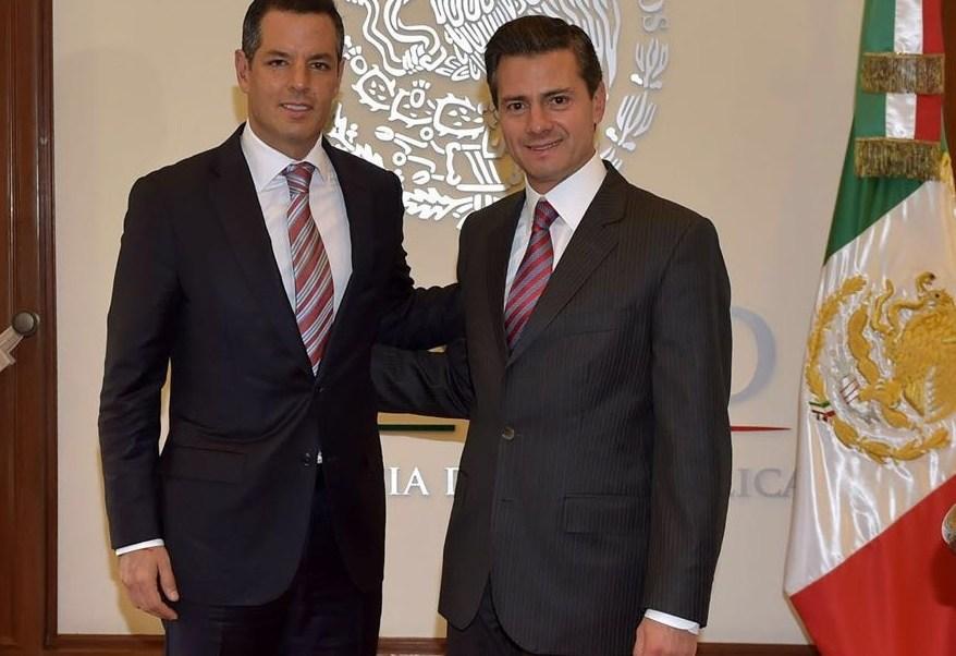 El presidente Enrique Peña Nieto recibió en audiencia privada al gobernador de Oaxaca, Alejandro Murat Hinojosa (Foto: Gobierno del Estado de Oaxaca)