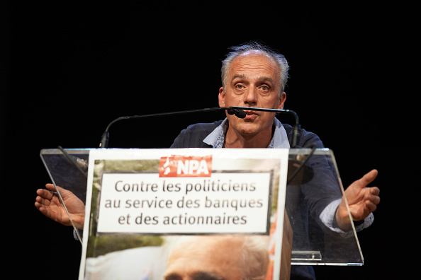 Philippe Poutou. (Getty Images)