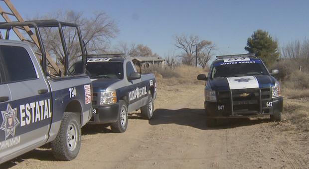 Operativo de la Policía Estatal de Chihuahua. (Twitter @TelevisaJuarez, archivo)