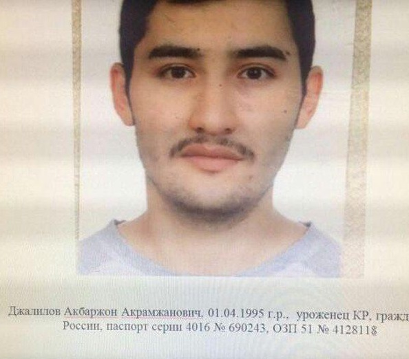 Abror Azimov, oriundo de Asia Central, quien habría entrenado al terrorista suicida, Akbarzhon Dzhalilov, nacido en Kirguizistán (Foto: akhbor.com)
