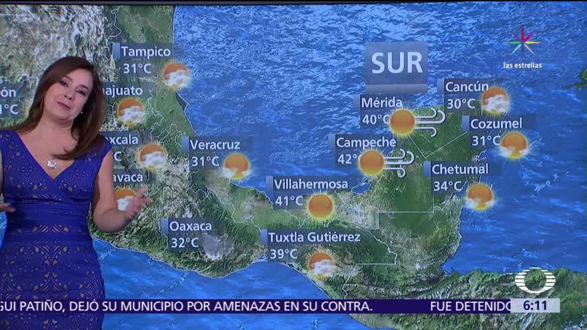 preven temperaturas de mas de 45 grados en ocho estados de mexico