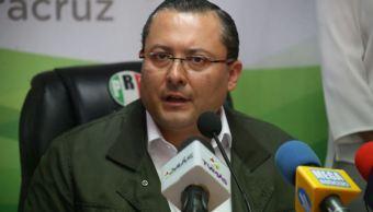 Jorge Alarcón, director del CDE del PRI Veracruz. (Twitter @PRIVer_ )