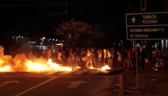 Protestas contra el gobierno de Nicolás Maduro en Venezuela (EFE)