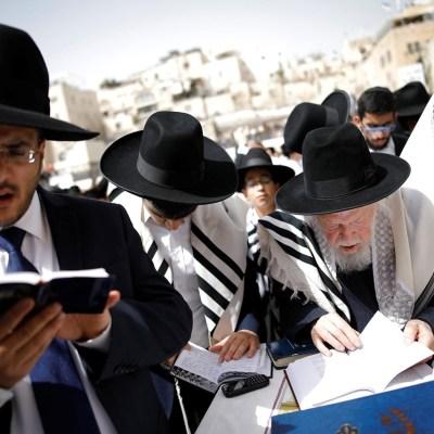 Multitudinaria bendición sacerdotal en la Pascua judía de Jerusalén