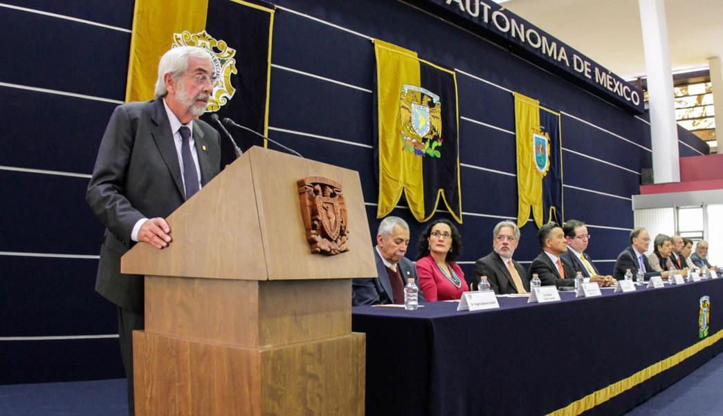 Enrique Graue, rector de la UNAM. (Twitter @UNAM_MX)