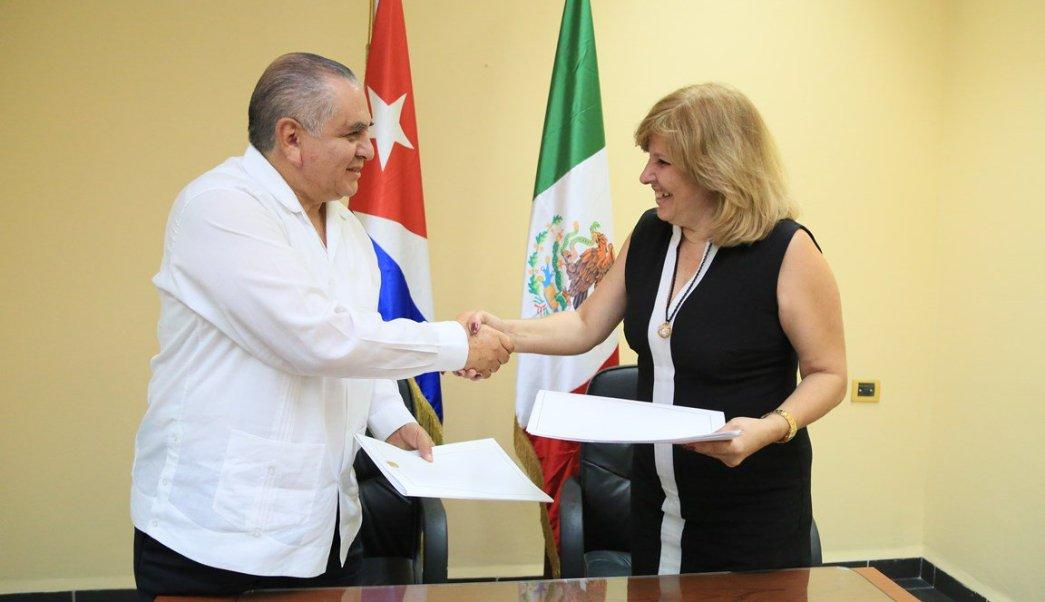Reunión del Grupo de Trabajo sobre Asuntos Migratorios y Consulares. (Twitter @CubaMINREX)