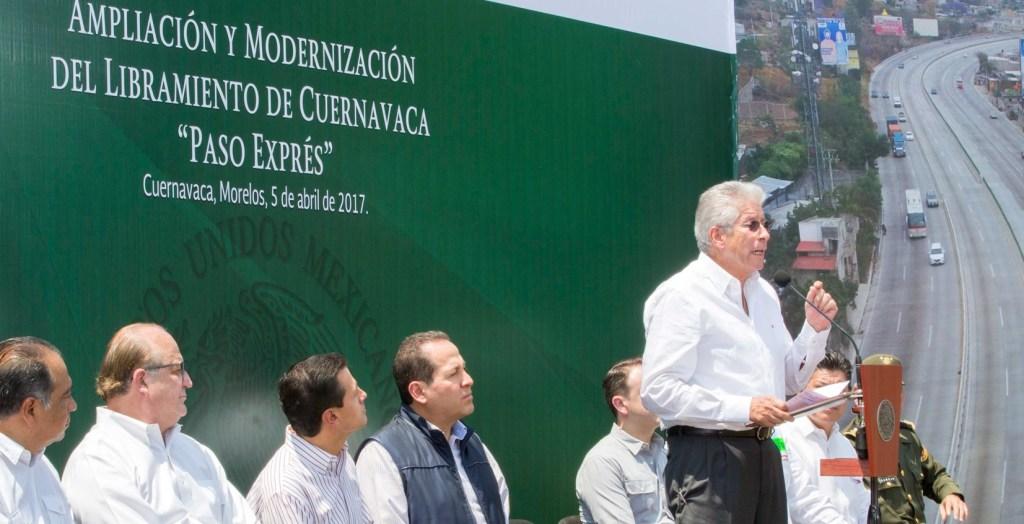 Gerardo Ruiz Esparza, secretario de Comunicaciones y Transportes. (Presidencia de la República)