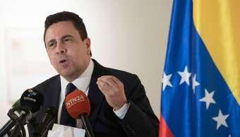 Samuel Moncada, embajador, Venezuela, OEA, deuda, Nicolás Maduro, política,