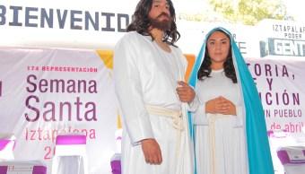 Sandra Elisa Perales Balderas interpretará el papel de María en la 174 representación de la Pasión de Iztapalapa. (Notimex)
