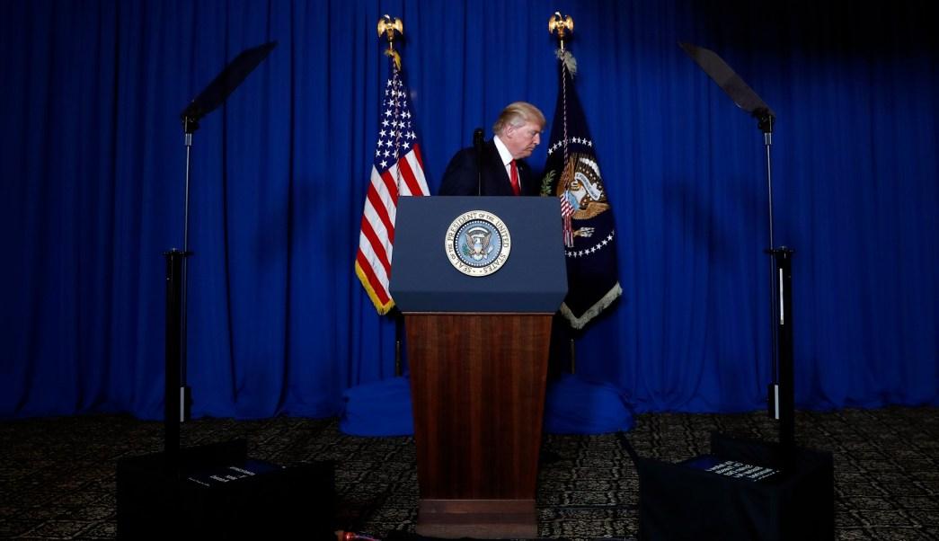 Se agota la paciencia de Trump y ordena ataque contra el régimen de Siria. (AP)