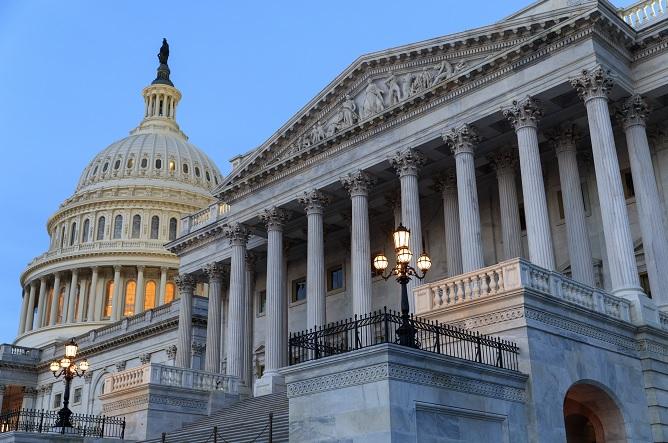 El Comité Judicial del Senado, dirigido por el Partido Republicano, se reúne para promover la nominación del candidato a la Corte Suprema Neil Gorsuch (AP)