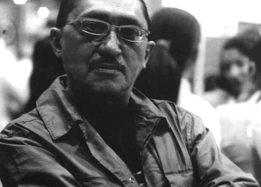 Sergio González, escritor mexicano. (INBA)