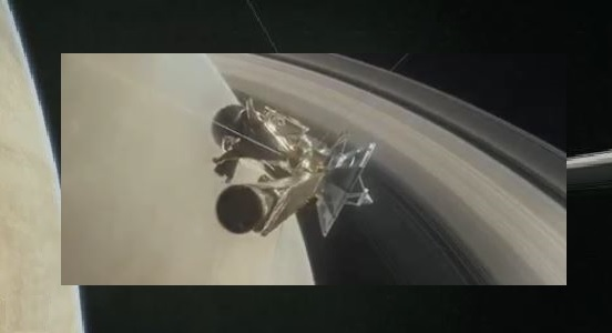 La nave espacial Cassini se adentra en los anillos de Saturno