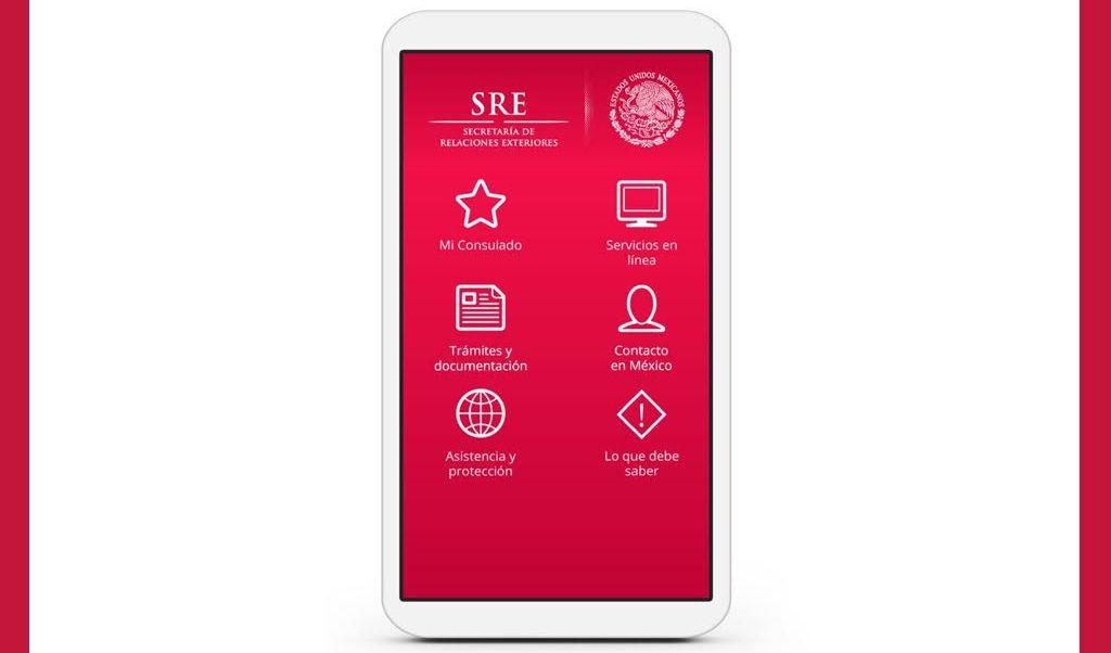 SRE activará nuevo botón de emergencia en la app 'Miconsulmex'. (Sitio oficial/SRE)