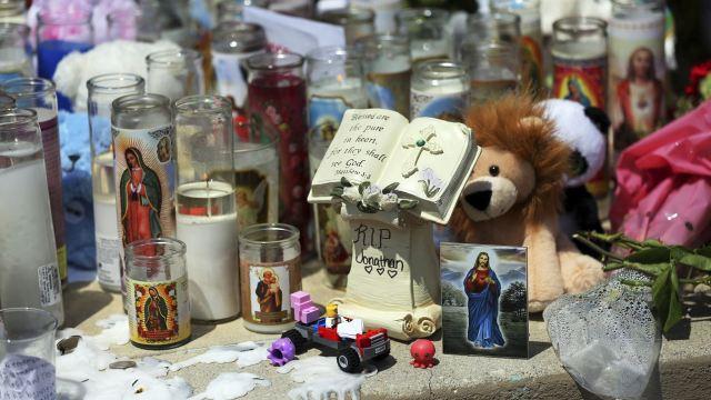 En el tiroteo en San Bernardino también murió una maestra. (AP)