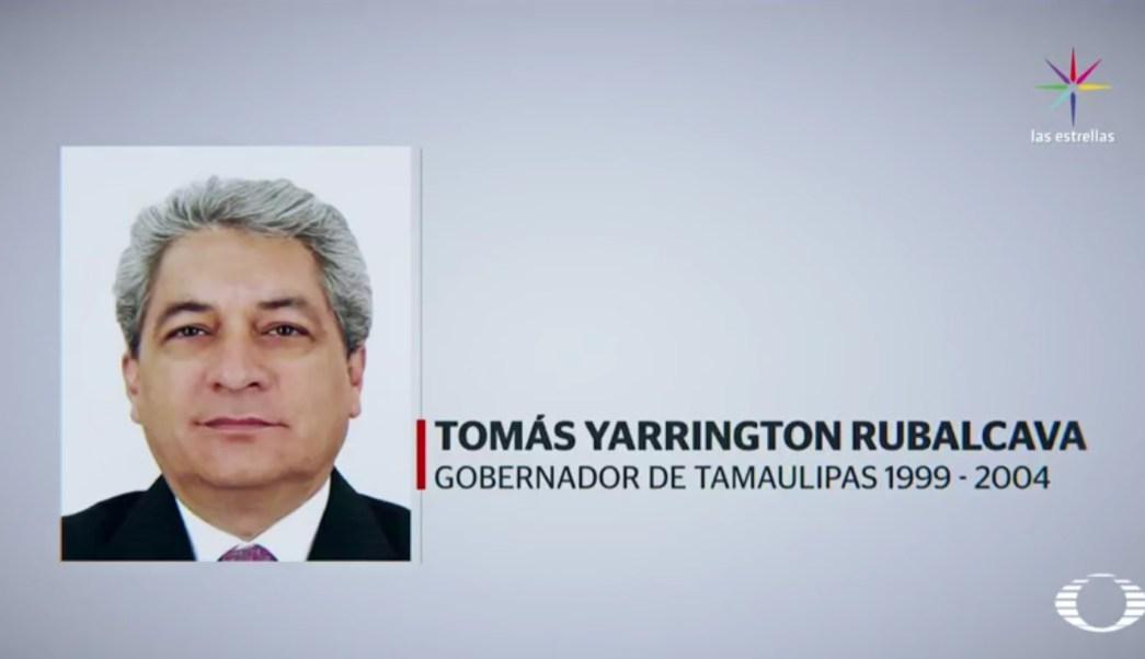 Tomás Yarrington Rubalcava fue gobernador de Tamaulipas de 1999 a 2004. (Noticieros Televisa)