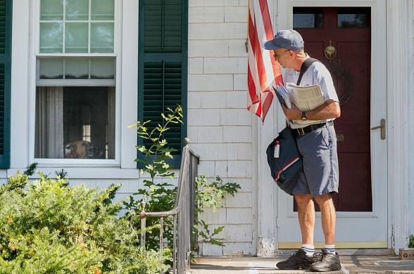 Trabajador del Servicio Postal de Estados Unidos.