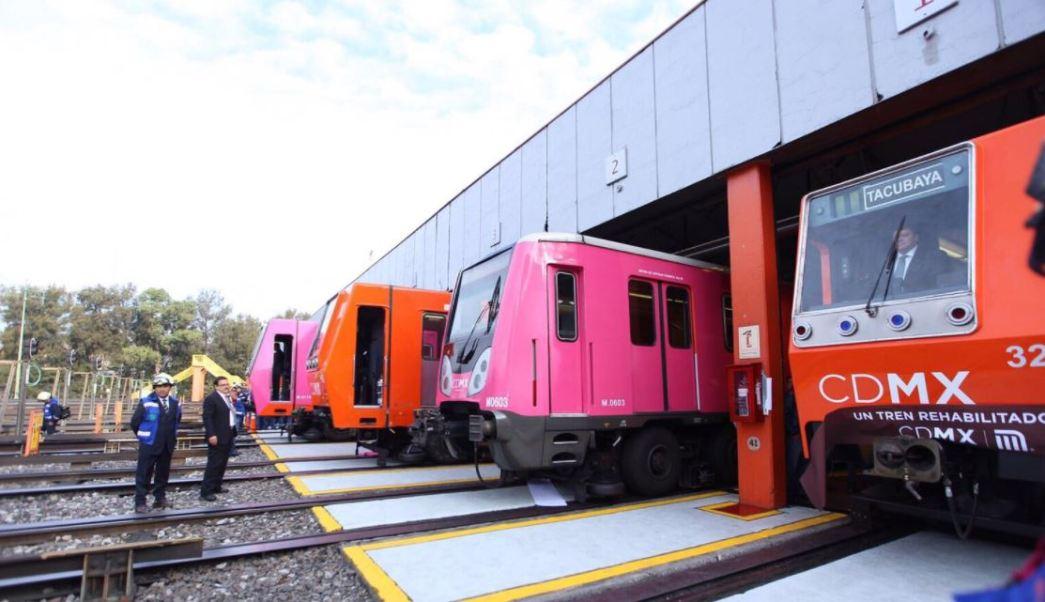 El STC Metro puso en marcha cuatro trenes para dar servicio a las líneas 1, 2, 7 y 9. (@MetroCDMX)