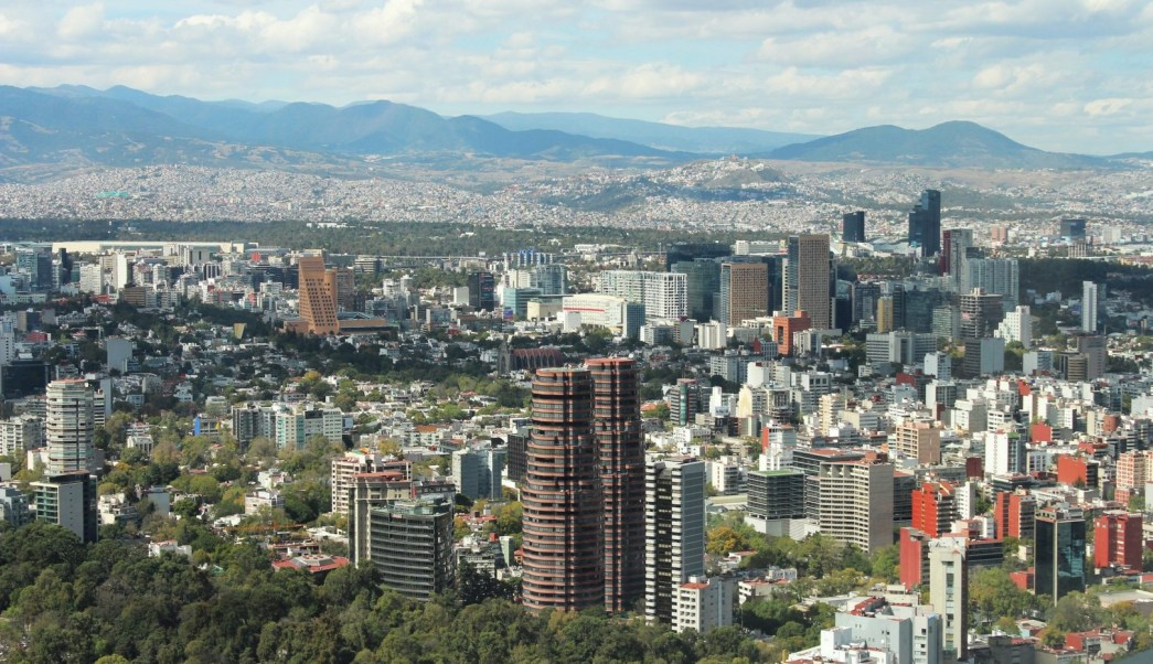 Panorámica del Valle de México clima