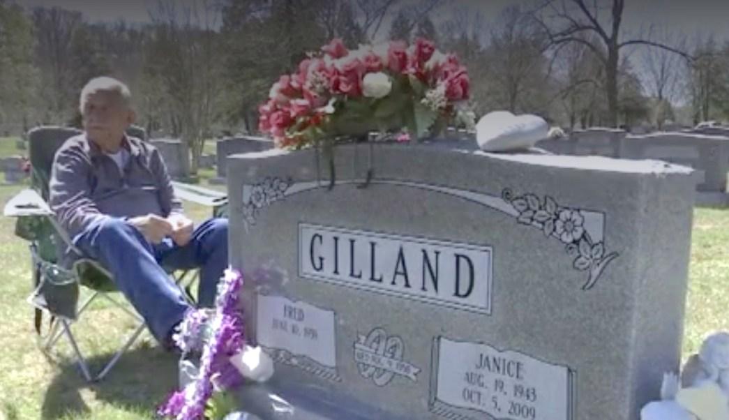 Fred Gilland visita a su esposa durante 7 años