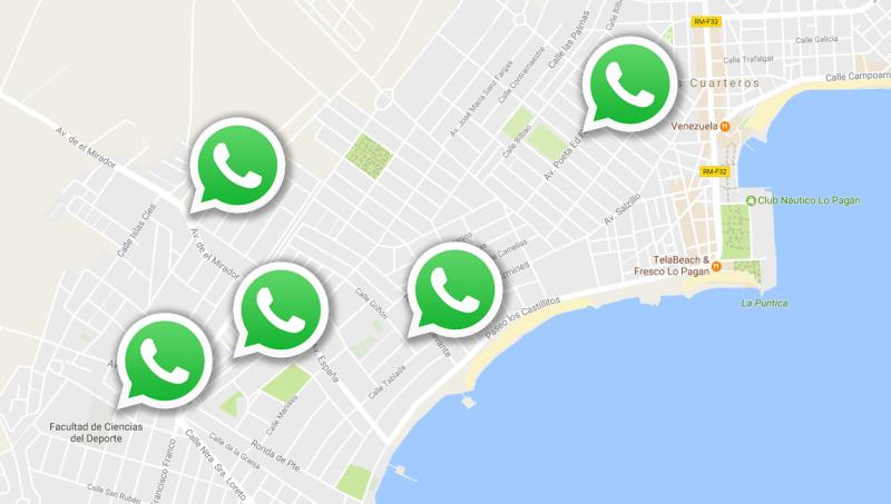 Ahora WhatsApp permitirá saber dónde están tus contactos en tiempo real