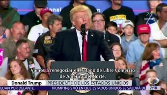 casa blanca, Trump, 100 dias, Tratado de Libre Comercio